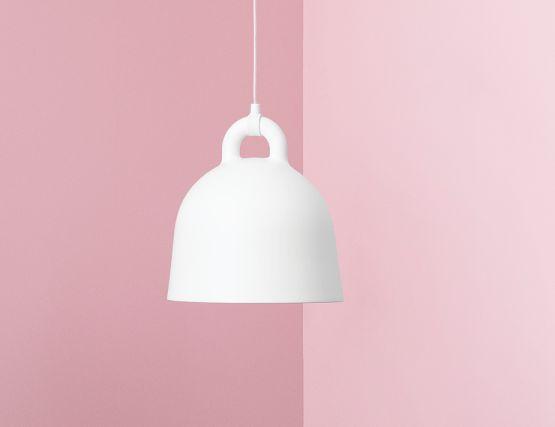 White Bell Pendant