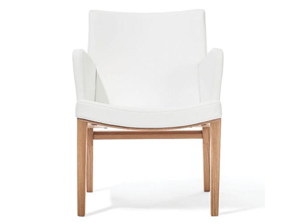 Solid Oak Moritz Lounge Arm Chair