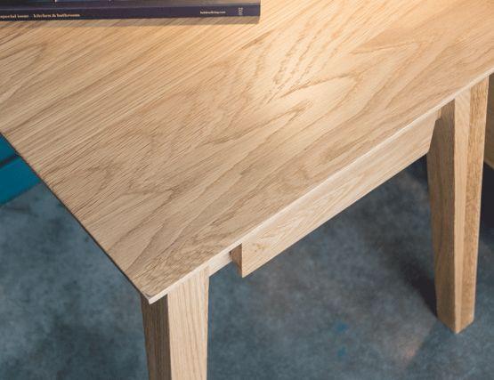Bedside Table Solid Oak