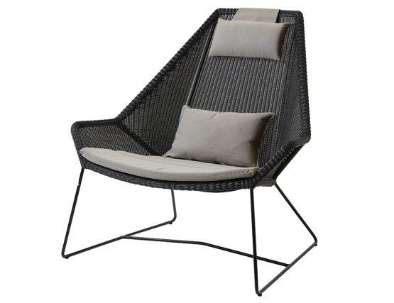 Breeze Outdoor_0007_Breeze_highback_chair_black_taupe_Y36