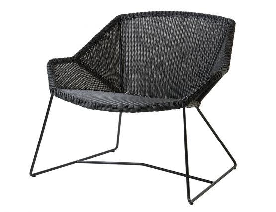 Breeze Outdoor_0000_Breeze_lounge_chair_black