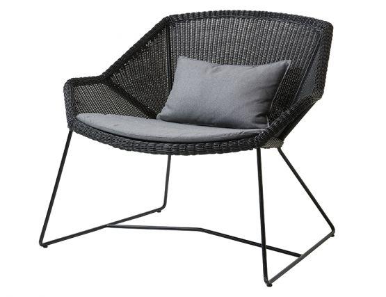 Breeze Outdoor_0052_Breeze_lounge_chair_black_grey_YSN95