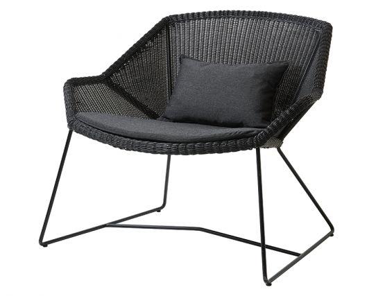 Breeze Outdoor_0053_Breeze_lounge_chair_black_black_YSN98