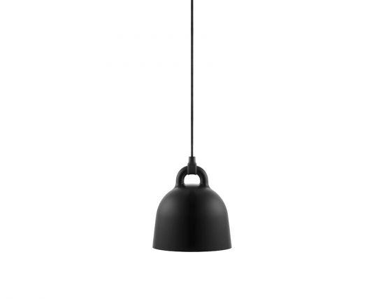 Bell Pendant_0011_502090_Bell_Lamp_XSmall_Black_1