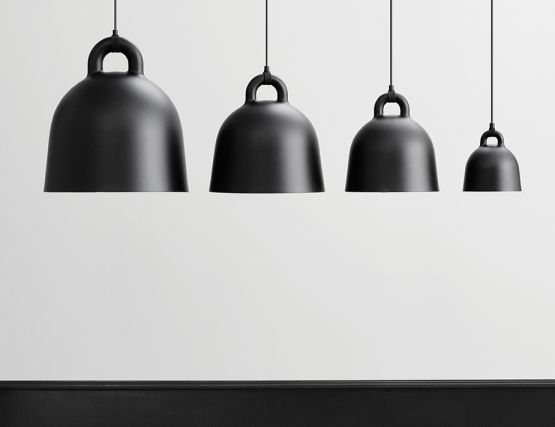 Normann Copenhagen Black Bell Pendant