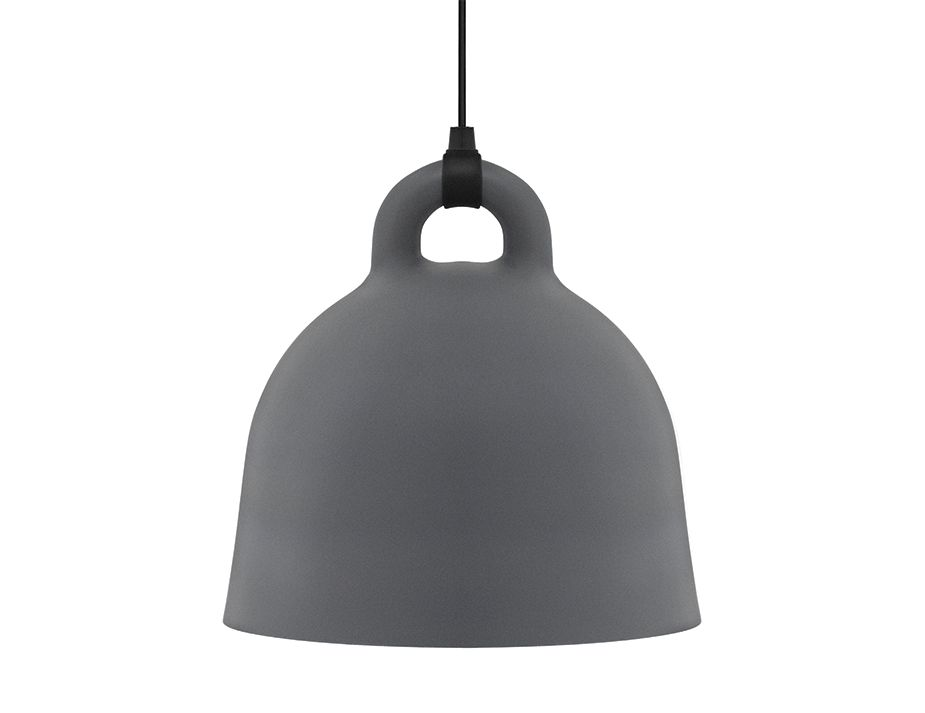 Bell Pendant_0000_502115_Bell_Lamp_Large_Grey_1
