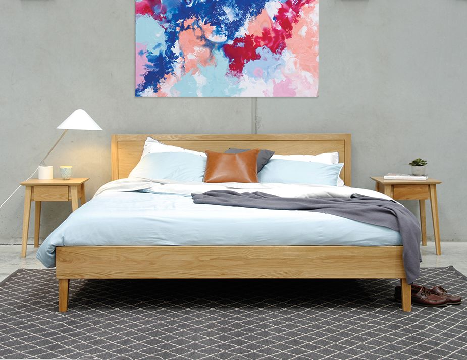 King Bed Styled
