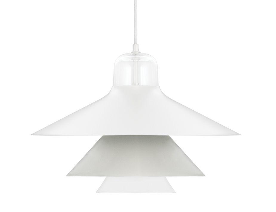 White Modern Pendant