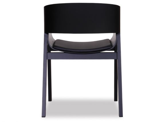 Black Modern Arm Chair