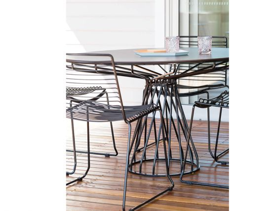 Black Chairs Table