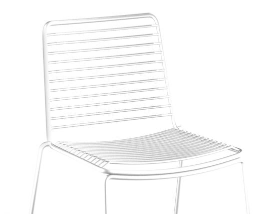 White Seated Chair