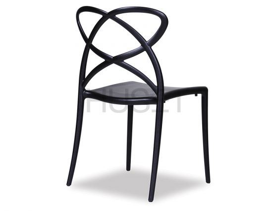 Angled Chair Black