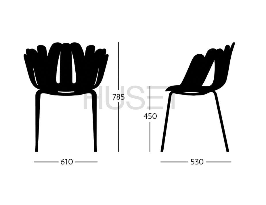 Daisy Arm Chair Specs