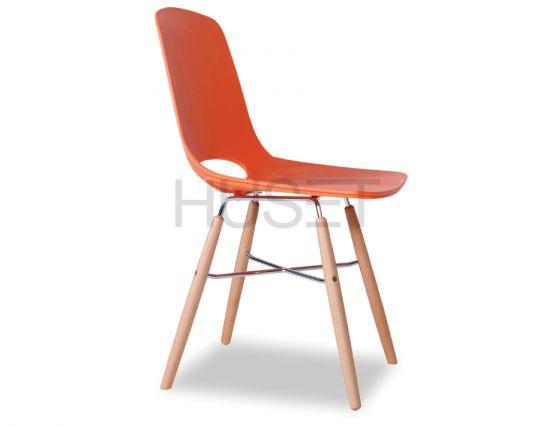 Orange Dining Chair