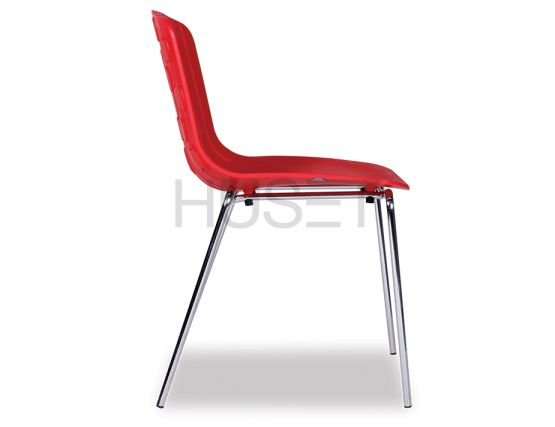 Side Of Red Chair