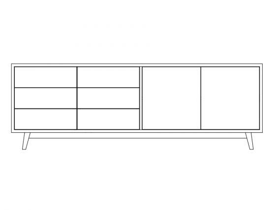 Sideboard_Comenhagen 220