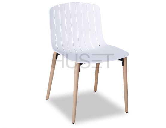 White Gotcha Wood Legs