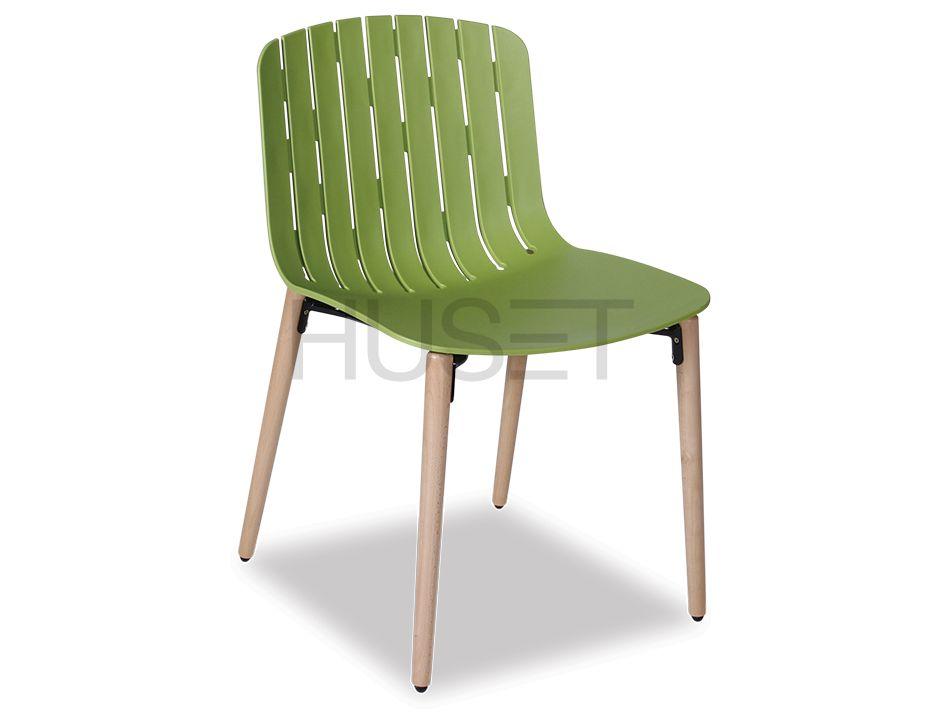 Green Gotcha Wood Legs