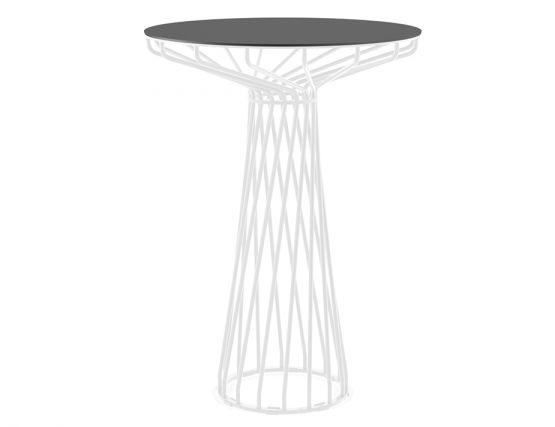 High Bar Table Black Top