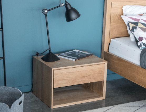 Designer Wood Side Table