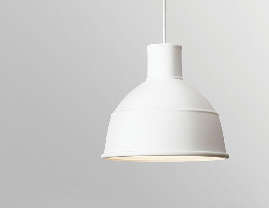 White Unifold Pendant