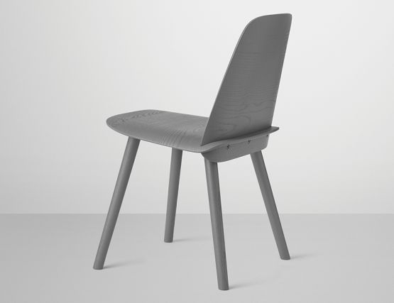 Dark Grey Nerd Chair