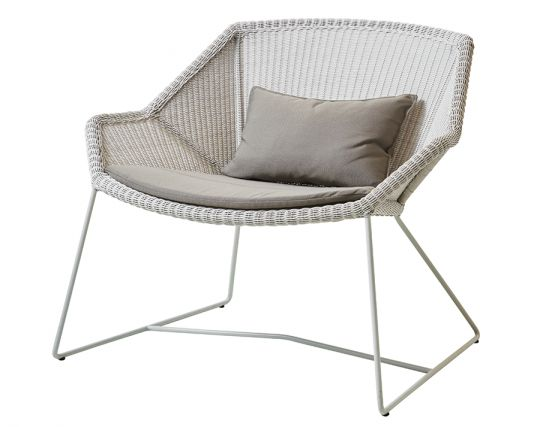 Breeze Outdoor_0046_Breeze_lounge_chair_white Grey_taupe_Y36