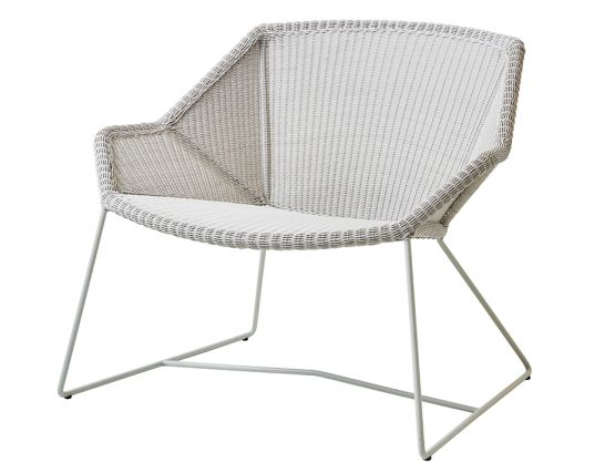 Breeze Outdoor_0049_Breeze_lounge_chair_white Grey