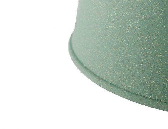 Muuto Grain Pendant_0010_Grain_pendel_lamp_dusty_green_CLOSEUP_greybackground_med Res