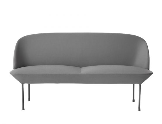 Oslo 2seater Grey