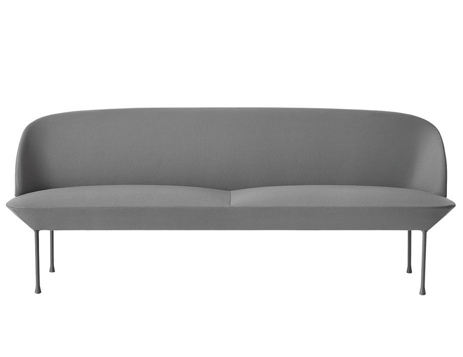 Oslo 3seater Grey