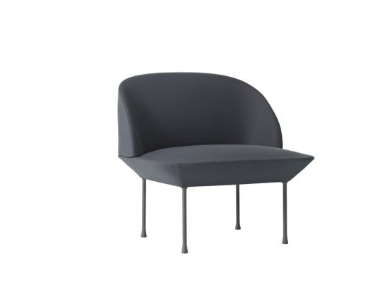 Oslo Chair Darkgrey
