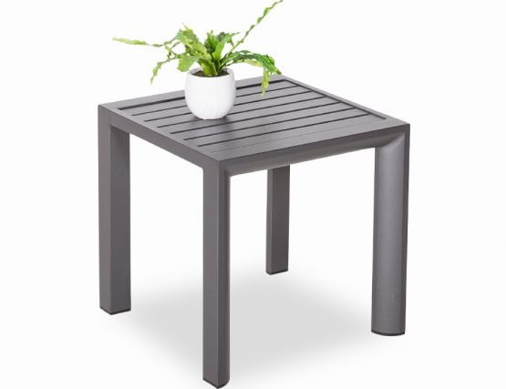 Alvor Outdoor Side Table Charcoal  Frame