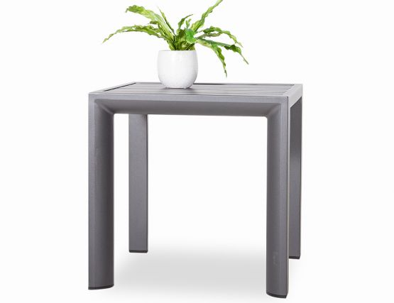 Alvor Outdoor Side Table Charcoal