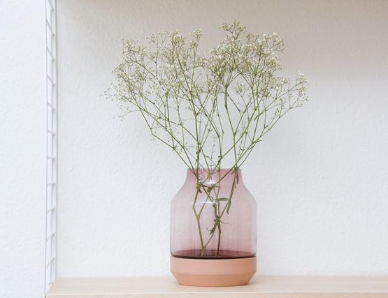 Rose Elevated Vase