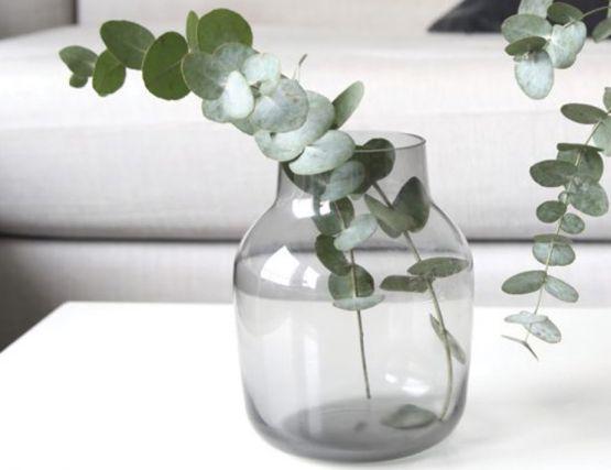 Silent Grey Vase