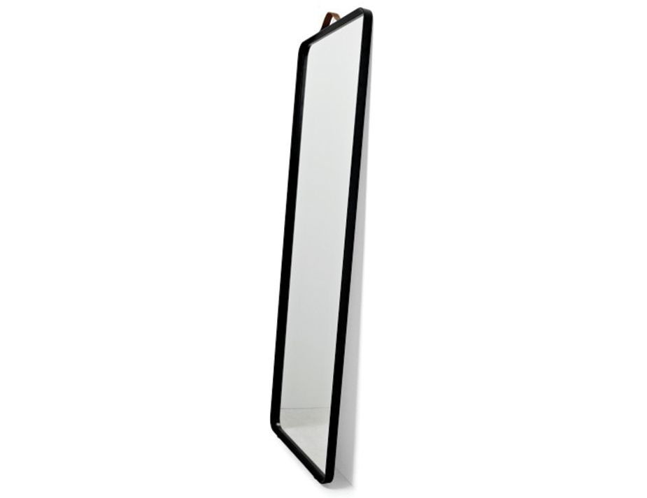 Floor Mirror Black Side