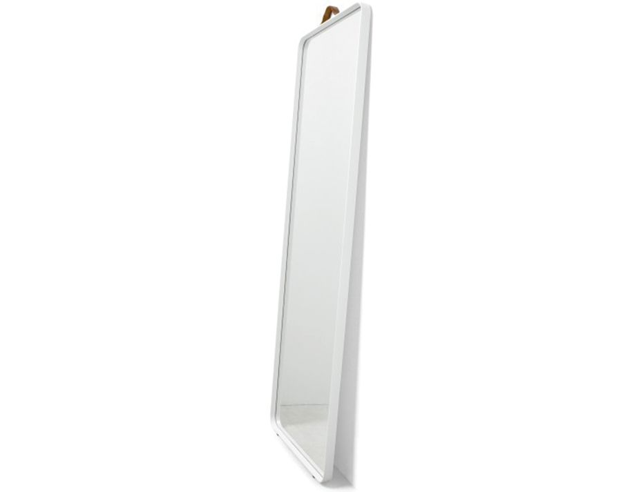 Floor Mirror White Side