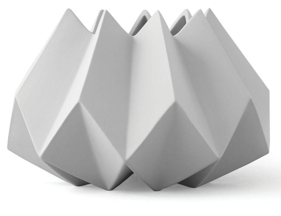Folded Vase Ash