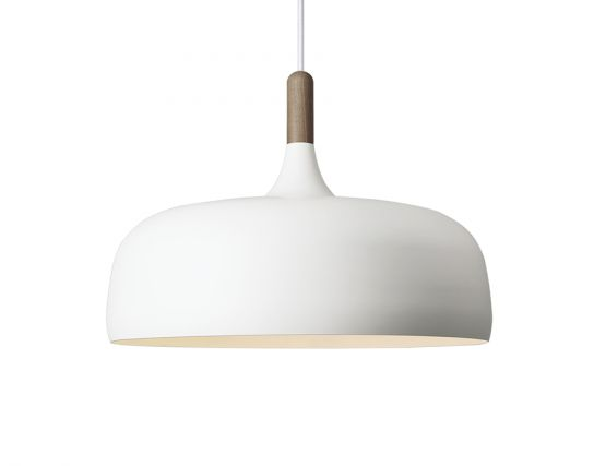 Acorn_0001_Northern Lighting Acorn Pendant Light White