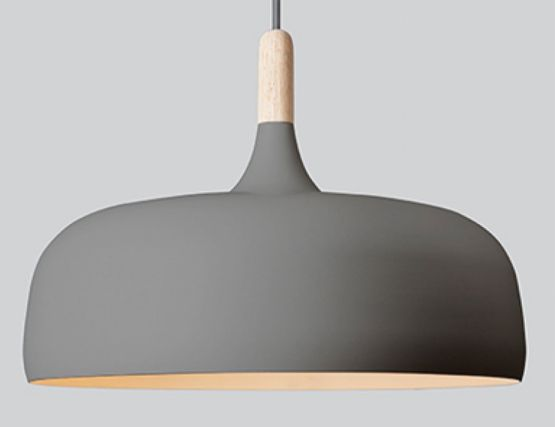 Grey Beech Acorn Pendant