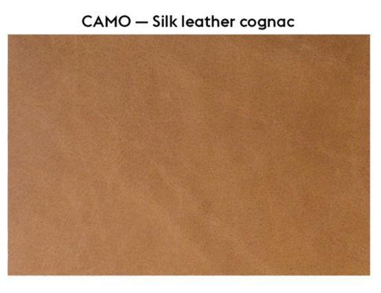 Silk Leather Cognac