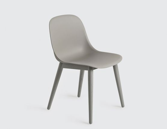 Fiber Side Wood Grey