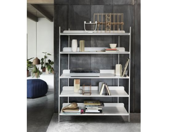 Compile Shelving Grey