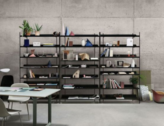 Compile Shelving Black Styled