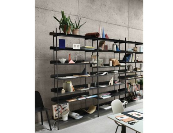 Compile Shelving Black