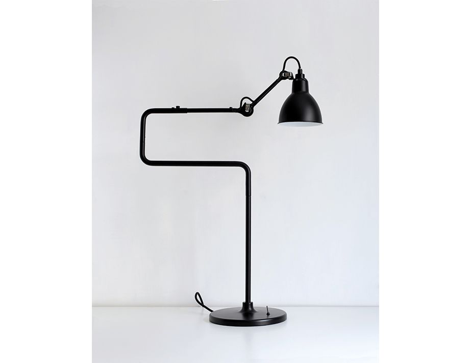 317 Table Lamp Black