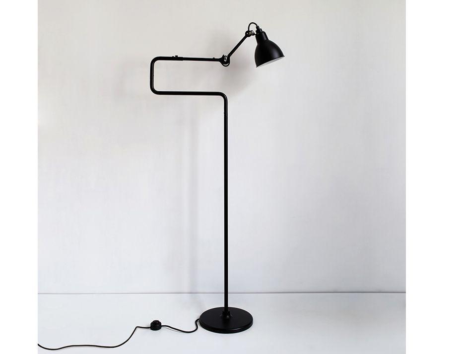 411 Black Floor Lamp