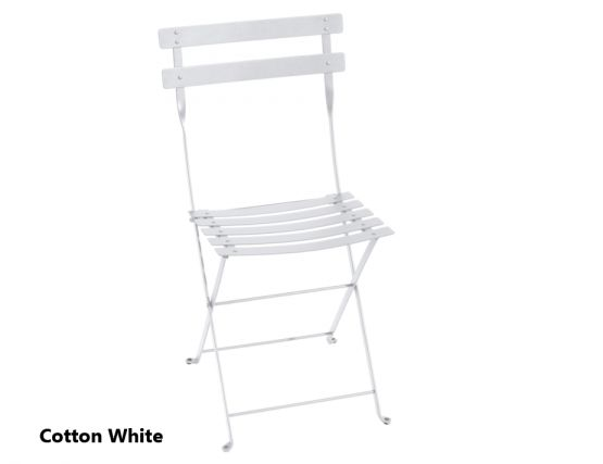 100 1 Cotton White Chair