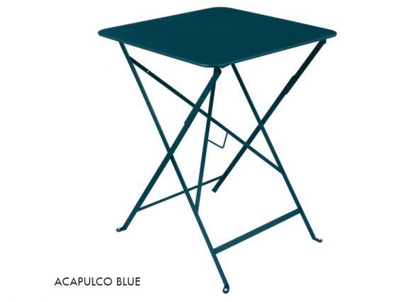 Acapulco Blue Bistro Table